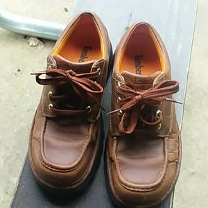 TIMBERLAND SIZE 7M GENUINE LEATHER BOOTS